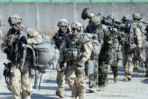 韩美进行消除朝鲜化武演习