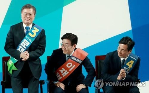 韩大选阵容初现轮廓 五者对阵可能性大