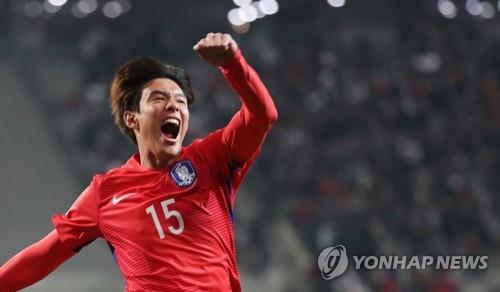 世预赛亚洲区12强赛:韩国1比0胜叙利亚