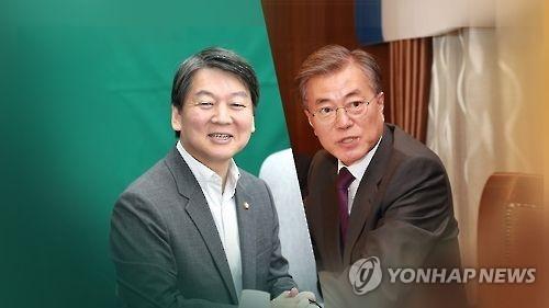韩大选民调:文在寅继续领跑 安哲秀力压安熙正居亚