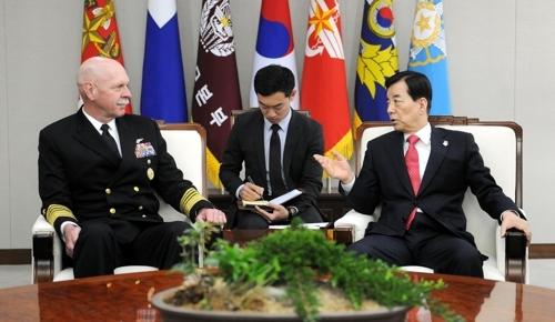 韩防长与美太平洋舰队司令共商抗衡朝鲜核导威胁