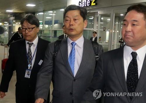 日本驻釜山总领事时隔85天返岗