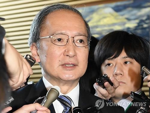 简讯:日本驻韩大使今晚抵韩时隔85天返岗
