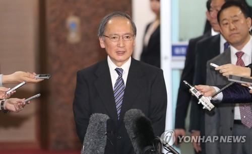 详讯:日本驻韩大使今晚抵韩时隔85天返岗