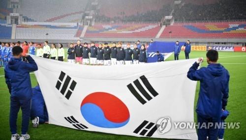 2018亚预赛韩女足在平壤10比0大胜印度