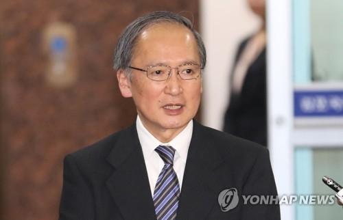 日本驻韩大使长岭安政(韩联社)