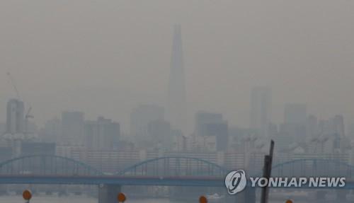 韩今年1-3月细颗粒物浓度为近三年来最高