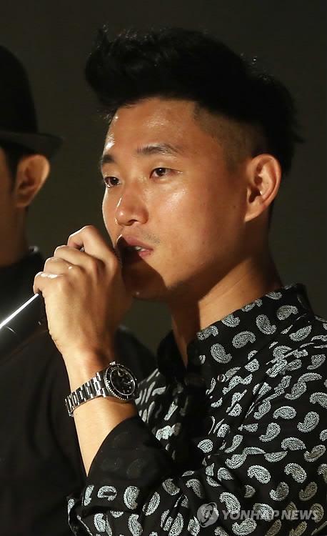 资料图片:歌手Gary(韩联社)