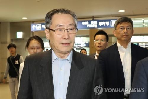 朝核六方会谈中方团长武大伟抵韩访问