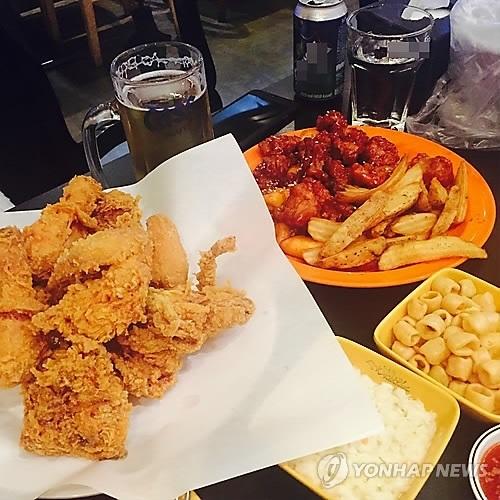 大数据:炸鸡取代炸酱面成韩国人挚爱食物