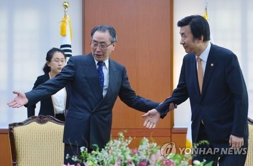 朝核六方会谈中方团长武大伟访韩见外长