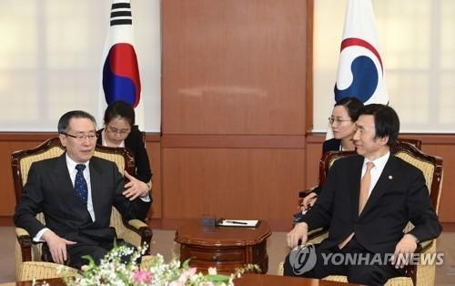 六方会谈韩中团长会晤 讨论朝核和萨德问题