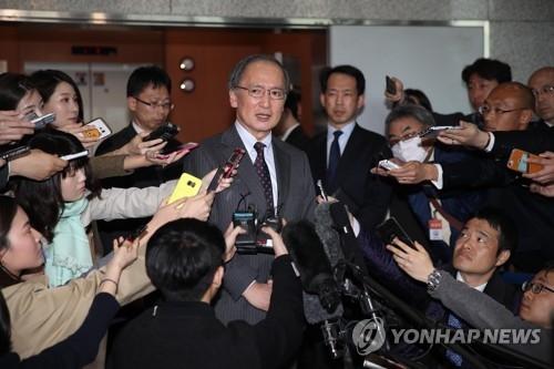日驻韩大使吁一致对朝 不明言慰安妇