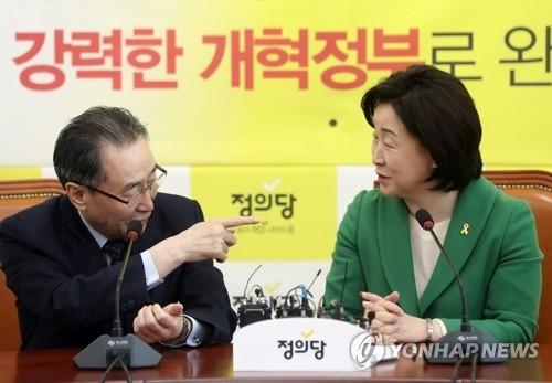 韩总统候选人沈相奵会武大伟就萨德入韩交换意见