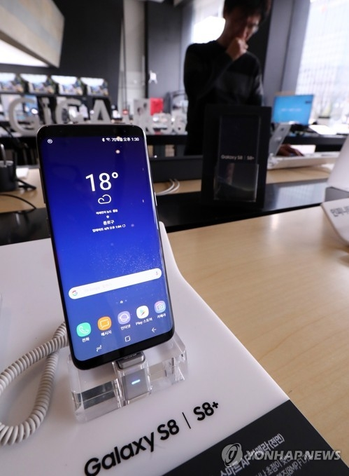 Galaxy S8预售超60万部供不应求