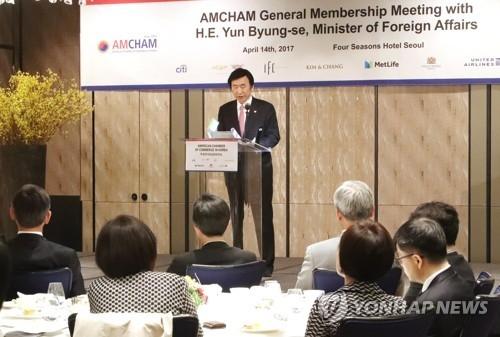 韩外长:美战略力量移师半岛意在抑制朝挑衅