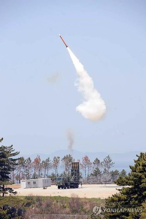韩军完成低空拦截弹道导弹的M-SAM导弹开发