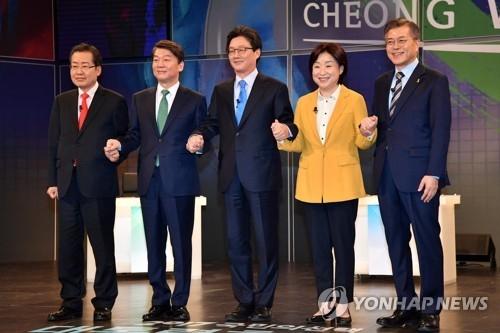 韩大选拉票大幕将启 5名主要候选人各显神通