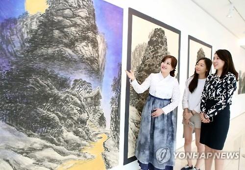 韩画家柳在春将在华办水墨画个展