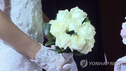 调查:韩已婚女性婚礼未从简主要是因家人反对