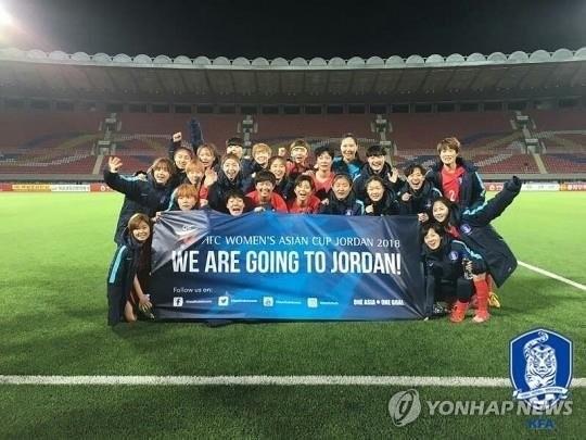 韩女足10月对阵美国12月再战朝鲜