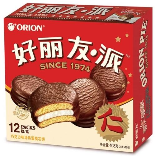 韩好丽友蝉联中国派类食品品牌力第一