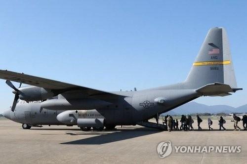 驻韩美军6月针对在韩美籍非战斗人员进行疏散演习