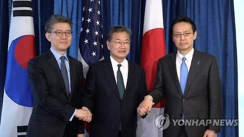 六方会谈韩美日团长今日会晤 商讨反制朝鲜挑衅