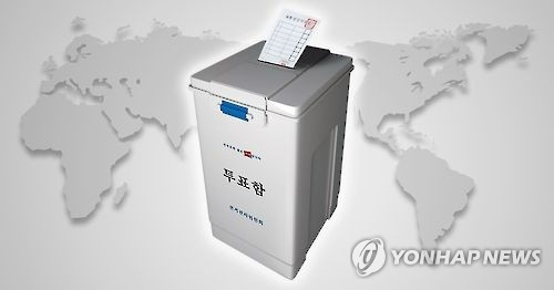 韩国总统选举境外投票启动 116国设204票站