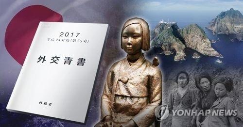 韩政府促日撤回外交蓝皮书中独岛主权主张