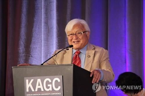 韩将表彰力挺慰安妇的前美国日裔议员本田
