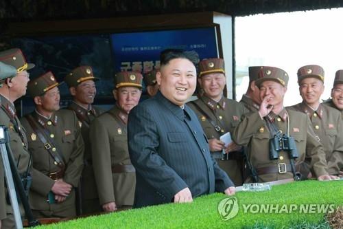 朝媒称朝军最大规模演练多兵种联合打击