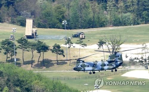 韩军:昨部署的萨德组件已可截击朝鲜导弹