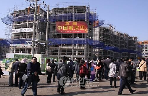济州外国人持有建筑中七成在中国人名下