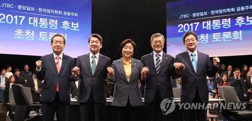韩各党总统人选对朝态度盘点