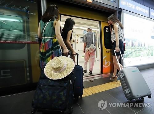 韩国机场线弘大入口站开设旅游中心