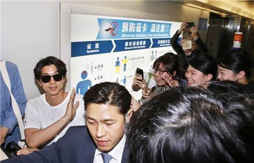 孔侑首访台湾办粉丝会引当地媒体竞相报道