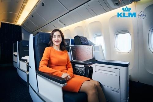 韩星韩惠珍代言荷兰皇家航空公司 - 2