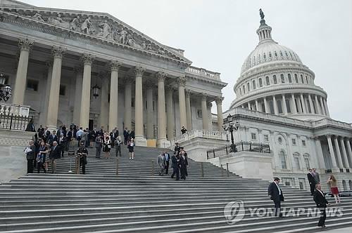 资料图片:美国众议院(韩联社/法新社)
