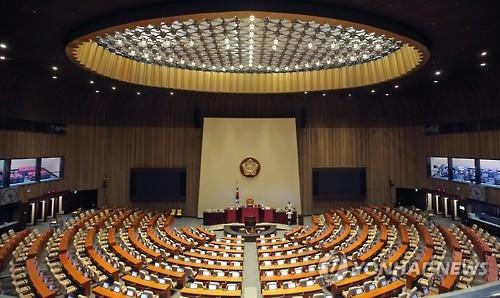 资料图片:韩国国会