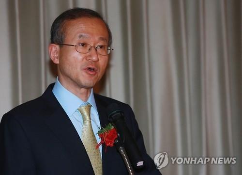 资料图片:韩国外交部第一次官(副部长)林圣男(韩联社)
