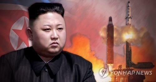 """简讯:朝鲜称成功试射新型地对地中远程""""火箭"""" - 1"""