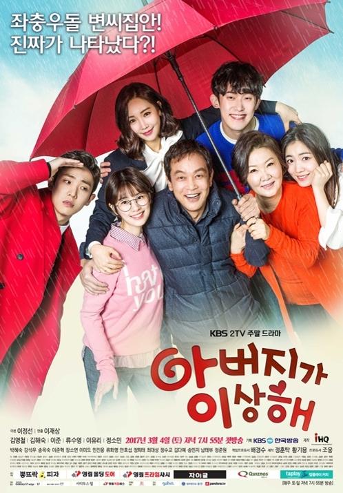 韩剧《爸爸好奇怪》收视率破30%