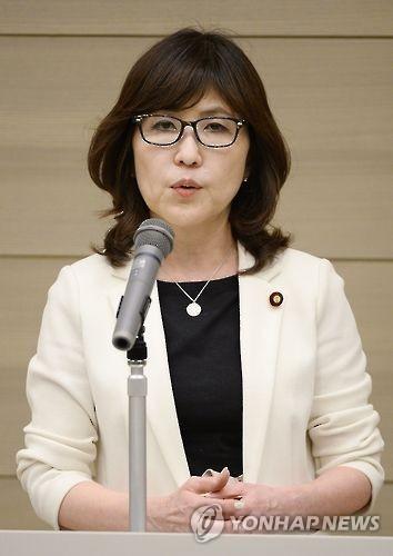 资料图片:日本防卫相稻田朋美(韩联社/共同社)