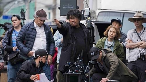 《玉子》摄影现场照 (韩联社)