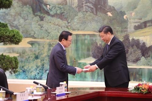 详讯:韩总统特使拜会习近平转交文在寅亲笔信