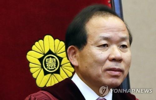 资料图片:宪法法院法官提名人金二洙(韩联社)