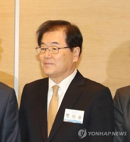 资料图片:韩国前常驻联合国日内瓦办事处大使郑义溶(韩联社)