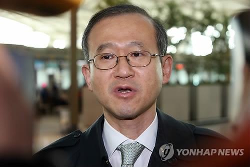 韩国外交部第一次官林圣男 (韩联社)