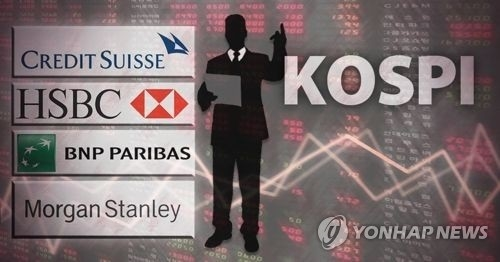 韩股市外资净买入额居亚洲第三 涨幅第一 - 1